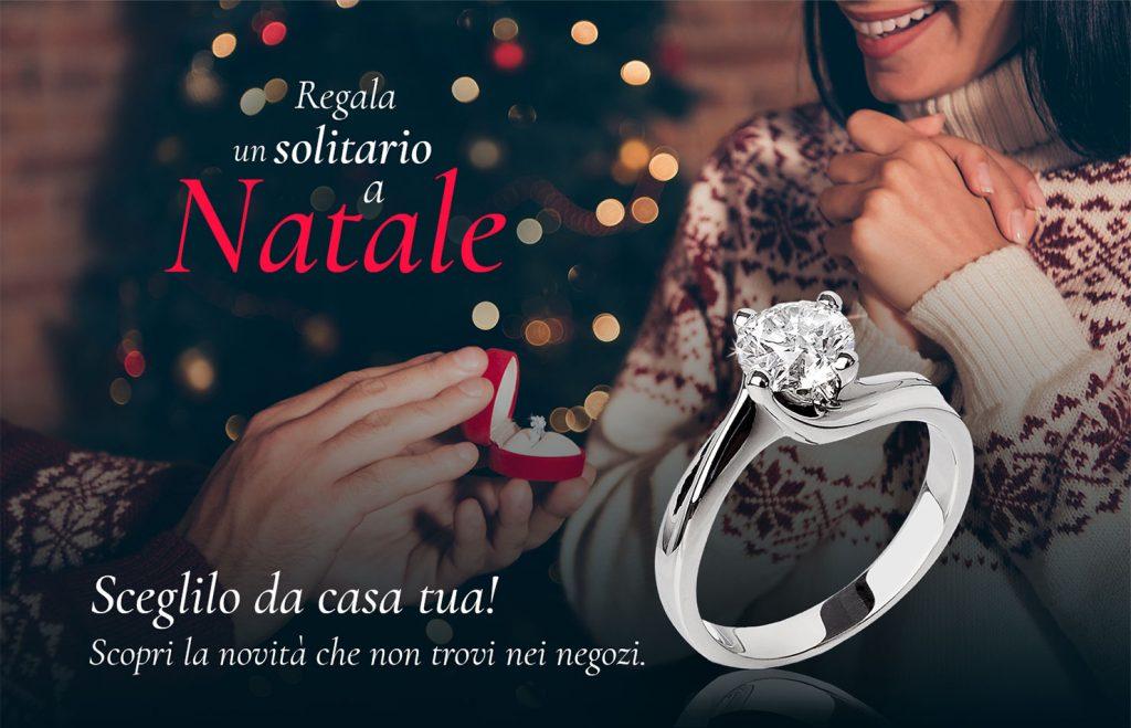 Regala un anello solitario a Natale