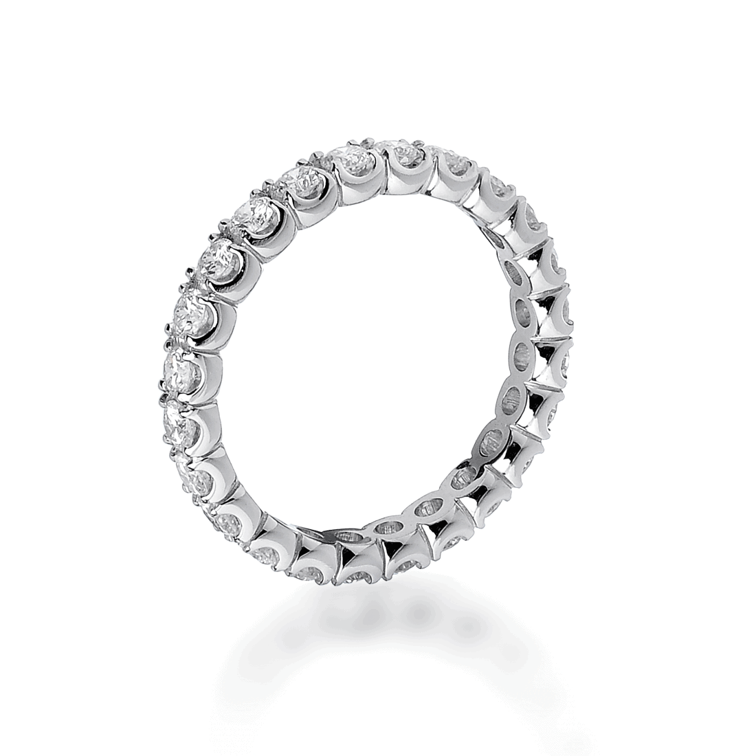 "Fede eternity ""Astrid"" in oro bianco e diamanti"