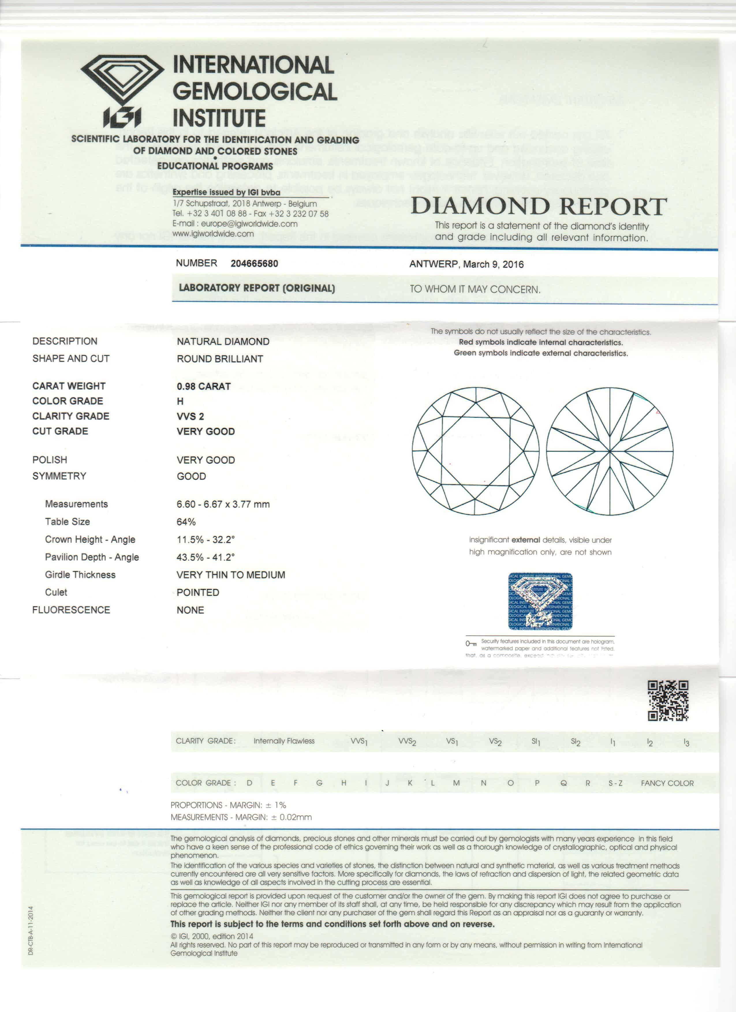 Igi   Diamante Carati