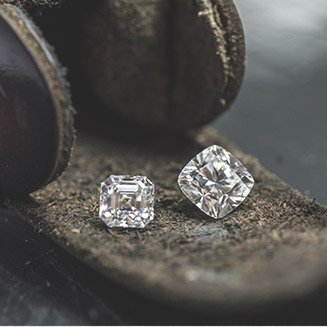 2 diamanti quadrati
