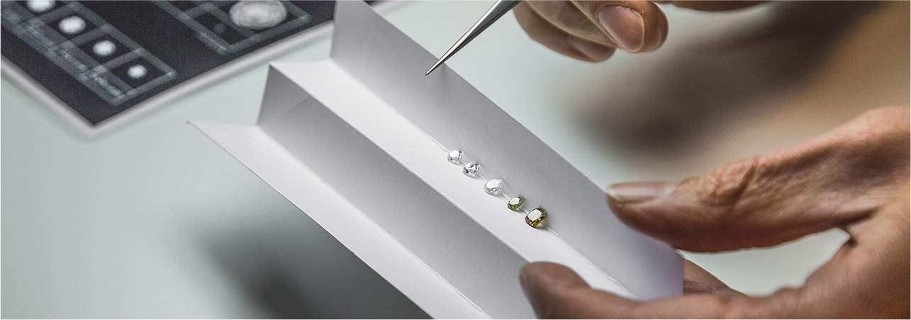 Diamanti di diversi colori