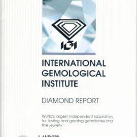 certificato diamante IGI