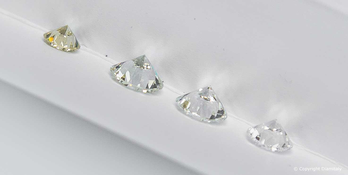 Colore del diamante