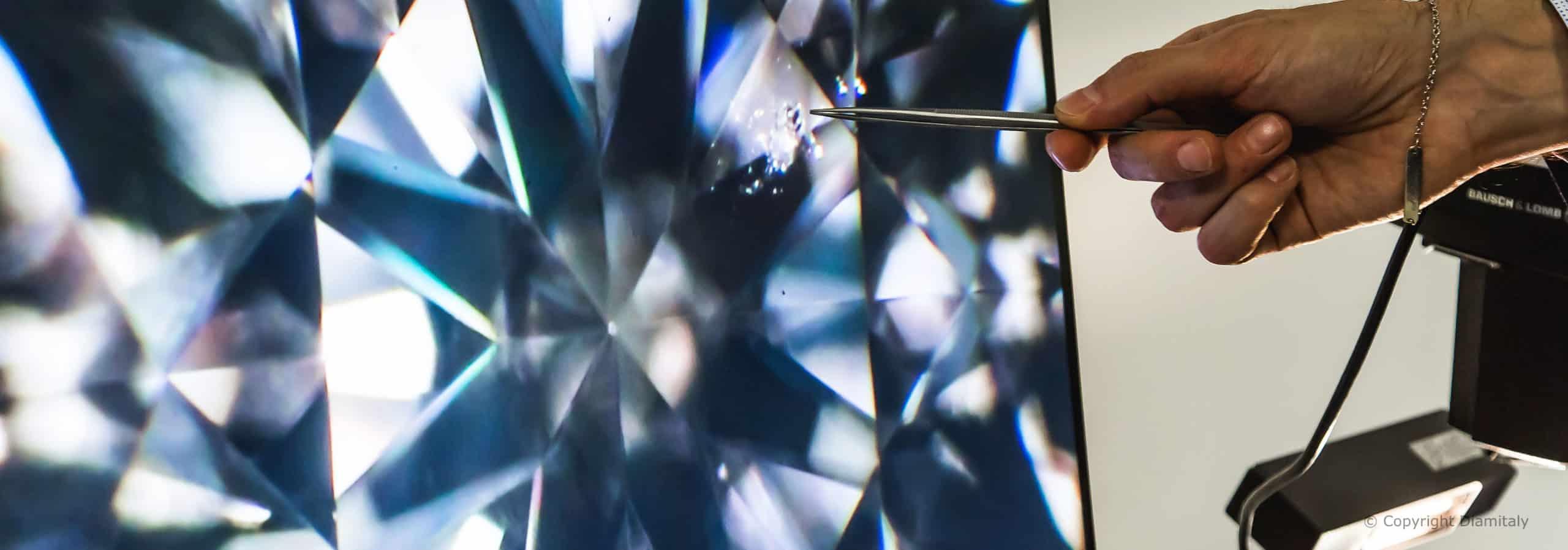 Purezza del diamante