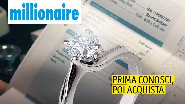 Prima di acquistatare l'anello di fidanzamento, conosci i diamanti.