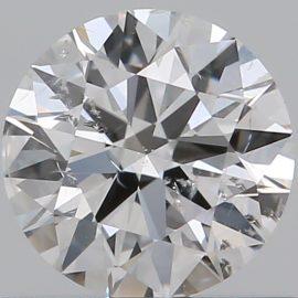 Diamante Certificato GIA - 0.50 ct colore D purezza SI2 taglio Eccellente
