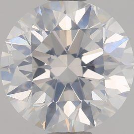 Diamante Certificato GIA - 1.50 ct colore F purezza SI2 taglio Eccellente