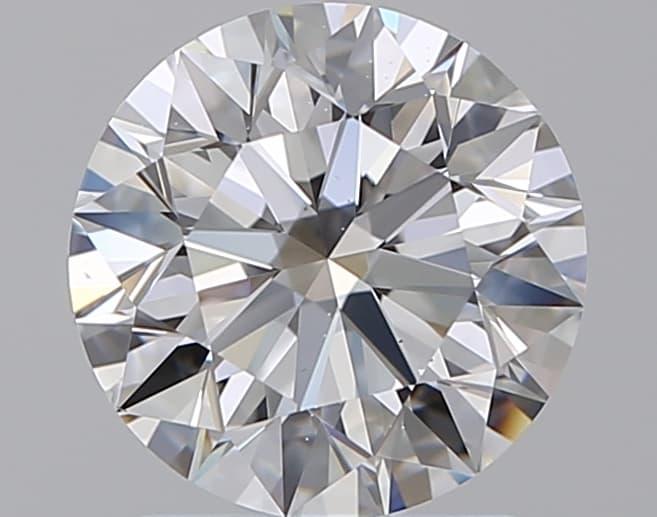 Diamante Certificato GIA - 1.51 ct colore D purezza VS2 taglio Eccellente