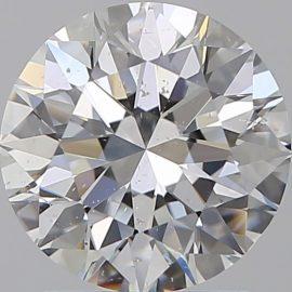 Diamante Certificato GIA - 1.60 ct colore F purezza SI1 taglio Eccellente