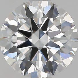 Diamante Certificato GIA - 1.10 ct colore D purezza VVS2 taglio Eccellente
