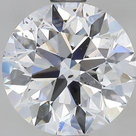 Diamante Certificato GIA - 1.51 ct colore D purezza SI1 taglio Eccellente
