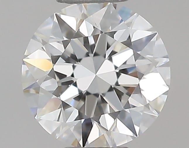 Diamante Certificato GIA - 0.30 ct colore F purezza IF taglio Eccellente