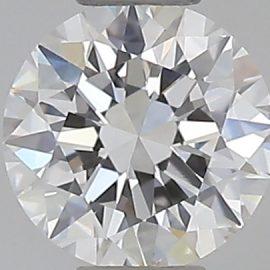 Diamante Certificato GIA - 0.30 ct colore G purezza IF taglio Eccellente