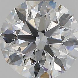 Diamante Certificato GIA - 0.50 ct colore D purezza SI1 taglio Eccellente