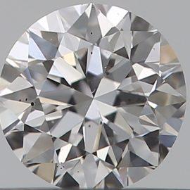 Diamante Certificato GIA - 0.30 ct colore D purezza VS2 taglio Molto Buono