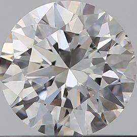 Diamante Certificato GIA - 0.30 ct colore F purezza VS2 taglio Eccellente