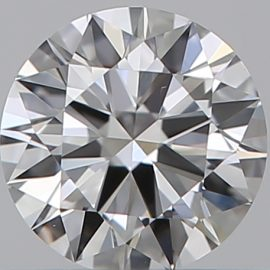Diamante Certificato GIA - 0.30 ct colore F purezza VS1 taglio Eccellente
