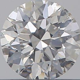 Diamante Certificato GIA - 0.30 ct colore F purezza SI2 taglio Eccellente