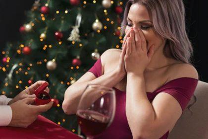 L'anello di fidanzamento a Natale: davvero una buona idea