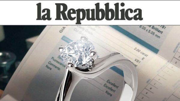 Diamitaly sul quotidiano La Repubblica