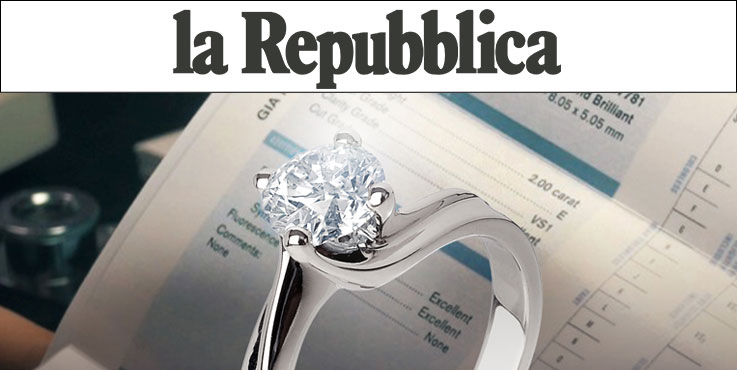 Diamitaly sul quotidiano La Repubblica
